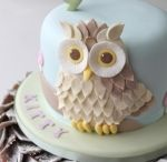 Owl Cake, Cookie, Party