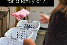 Large Family Homemaking / Homemaking tips and tricks for large families