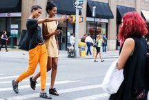 Street Style / New York Fashion Week Spring 2015