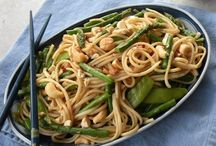 Asian Inspired Vegetarian Meals / Asian inspired vegetarian meals including Japanese, Thai, Vietnamese and more!