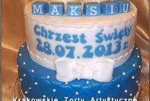Torty na chrzest / Przykładowe torty na chrzciny
