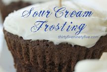 Frosting / Frosting for those amazing cakes and cupcakes.  / by Carrie Perrins 3595