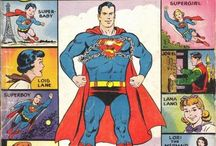 Superman Family /  As the Superman mythos grew, some very strange things happened -- as these comic book covers show.