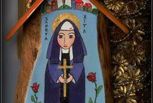 Moje malowane kapliczki