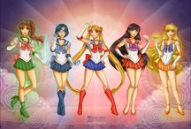 Sailor Moon / Fighting evil by moonlight, winning love by daylight, never running from a real fight, she is the one named Sailor Moon