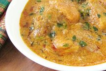 Recipes of Indian curries.
