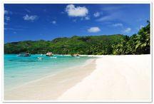 Praias de sonho / As melhores praias do mundo. Para desfrutar o sol e mergulhar em águas transparentes.