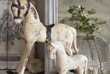 GOTTA LOVE OLD ROCKING HORSES / by Mar Crutchfield