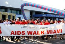 AIDS WALK MIAMI / April 24, 2016 for the 28th Annual AIDS Walk Miami fundraiser, a 5K (3.1 mile) walk-a-thon benefiting Care Resource, a 501[c](3) non-profit, multi-cultural, community based AIDS service organization providing Primary Medical Care, Dental, Psychosocial, Case Management, Outreach and Prevention, Food Bank, Home Delivered Meals and Nutritional counseling and education to over 15,000 residents living in Miami-Dade and Broward counties who are either affected or infected with HIV/AIDS.