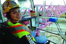 Female Heavy Equipment Operators