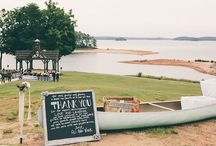 Vintage Chic / A beautiful vintage inspired wedding at Lake Lanier. Vue Photography