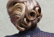 Look 2 setting and styling for media / Finger waves and pin curls