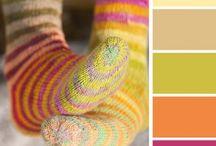 Bold/bright color palette / Color palette for future paintings