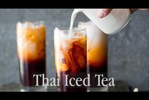 Asian ice tea / Homemade iced tea