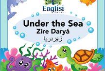 Englisi Farsi Bilingual Books : Under the Sea