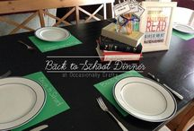 Back to School / Organization, Tips, Reminders, etc. for getting ready/going back to school!