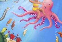 girl octopi, robots, dinos, elephants, etc.