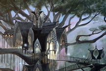 Lorien / Cuz I love woodland elves!