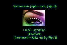 Permanente Make Up / Permanente make up , cosmetisch tatoeëren