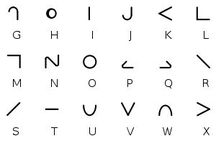 Secret alphabet