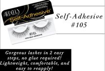 Ardell Self Adhesive Lashes / Always on the go? No worries, you can achieve gorgeous lashes in 2 easy steps with Ardell Self-Adhesive lashes! These lashes are pre-glued for quick application and are lightweight, comfortable and easy to reapply! (Available at bit.ly/ArdellSelfAdhesiveLashes , $5.15)