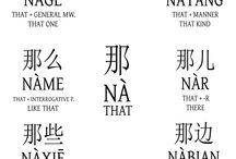 汉语 Related words