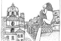 Austria Drawings