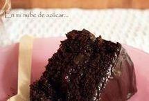 TARTA DE CHOCOLATE ESTUPENDA