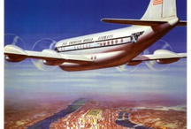 Vintage airliner adds / by Ad Muller