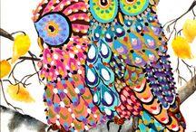 COLOURFUL ART!!! / Do u love art well I do and u should too!!!!
