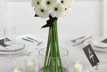 Wedding & Event Details / Cakes, floral arrangements & decor, color schemes and food