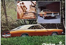 Classic Muscle Cars / A collection of classic muscle cars.