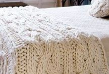Knit/Crochet-Blankets / Snuggle In!!