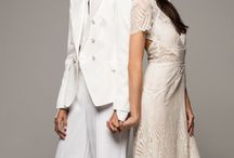 Love Wins Wedding Fashion / Stunning wedding fashions for the modern couple, from streamlined sheaths with geometric details to flirty, above-the-knee frocks. Visit lovewinstexas.com