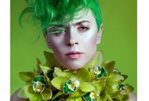 PANTONE Greenery / Concept | Hairstyling: Cristina Grama & Echipa Fason Photo: Christina Oné Photography