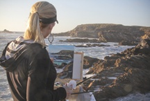 Plein Air Painting! / Some of my own plein air paintings, as well as paintings by other artists that I admire / by Anna Rose Bain