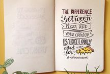 Handlettering references