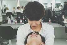 BTS J-Hope and Tae <3