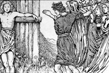 Classics Re-Captioned / Classic illustrations of Norse mythology with improved captions.