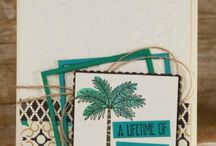 Project Sheet Wednesday / Projects done in collaboration with some of Stampin' Up's finest demonstrators!!