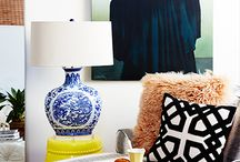 Inspiration for the Home / Comfort, welcoming, homey, cozy aesthetic with modern twists. Boho chic