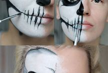 Halloween makeup tutoriály