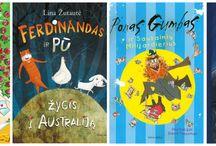 Knygų lentyna vaikams / Naujos, mėgstamiausios ir rekomenduojamos knygos vaikams