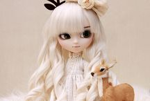 Pullip / Those cute Pullip dolls, patterns, face ups and so on