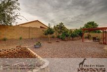 SOLD! Desirable Floor Plan Move In Ready Home in A Well Kept Community / 17812 W Eugene Ter, Surprise, AZ 85388 | This well kept community located just off the 303 offers plenty of space to play. Views of the covered patio and pergola offer fruit trees and gardening for your cooking pleasure. Don't miss out - easy to view and purchase. | CALL 623-748-3818 or visit us at www.FryTeamAZ.com | #HomeForSale #JustListed #NewListing #RealEstate