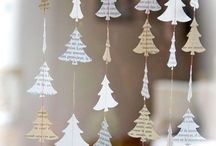 New year paper decor