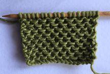 point en vague tricot