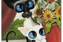 Pinceladas / Cats