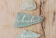 Place cards / #Placecards #MarquePlace #mariage #deco #decoration #calligraphy #calligraphie #naturel