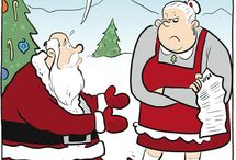 Santa & Christmas cartoons & comics